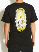 Lowcard Skull Light by Ken Davis T-Shirt