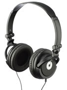 Loud Classic Over Ear Headphones Black