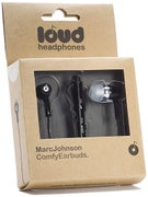 Loud Headphones Marc Johnson Earbuds  Black/Black