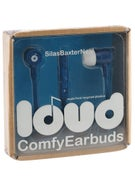 Loud Headphones Silas Baxter-Neal Earbuds Blue