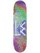 L.E. Logo Splatter Deck 8.125 x 31.75