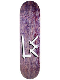 L.E. OG Logo Stained Purple Deck 8.25 x 31.875