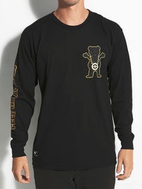 LRG Grizzly Boss Bear Longsleeve T-Shirt