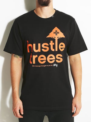 LRG Core Collection Hustle Trees Tee Black MD