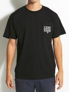 Lurk Hard Flag Logo Pocket T-Shirt