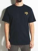 Lurk Hard Gold Flag T-Shirt