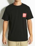 Lurk Hard Red Flag Pocket T-Shirt
