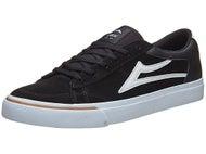 Lakai Ellis Shoes Black/White Suede