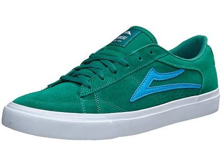Lakai Ellis Shoes Green Suede