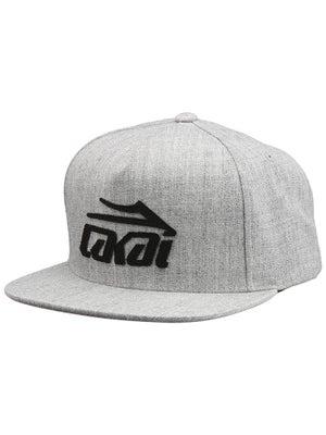 Lakai Etch Snapback Hat Heather Grey Adj.