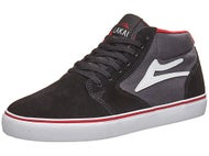 Lakai Fura High Shoes  Black/Grey Suede