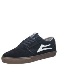 Lakai Griffin Shoes  Black/Dark Gum Suede
