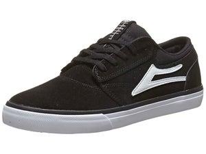 Lakai Griffin Shoes  Black/White Suede