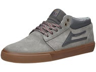 Lakai Griffin Mid Shoes  Grey/Gum Oiled Suede