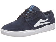 Lakai Griffin XLK Shoes  Navy Suede