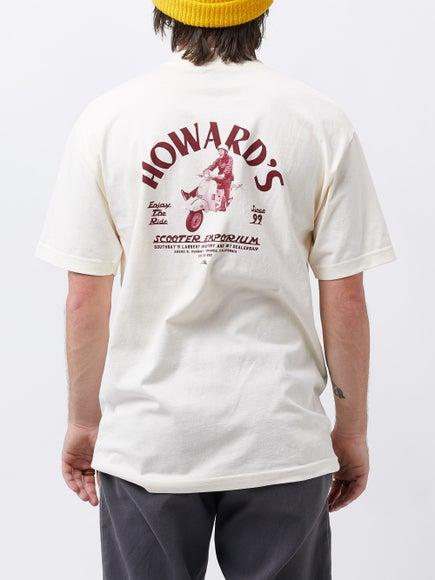 4912e7e2b7 Lakai Howard s Scooter Emporium T-Shirt