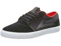 Lakai Kids Griffin Shoes  Black/White Suede
