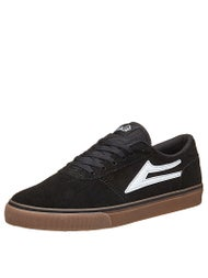 Lakai Manchester Shoes  Black/Gum Suede