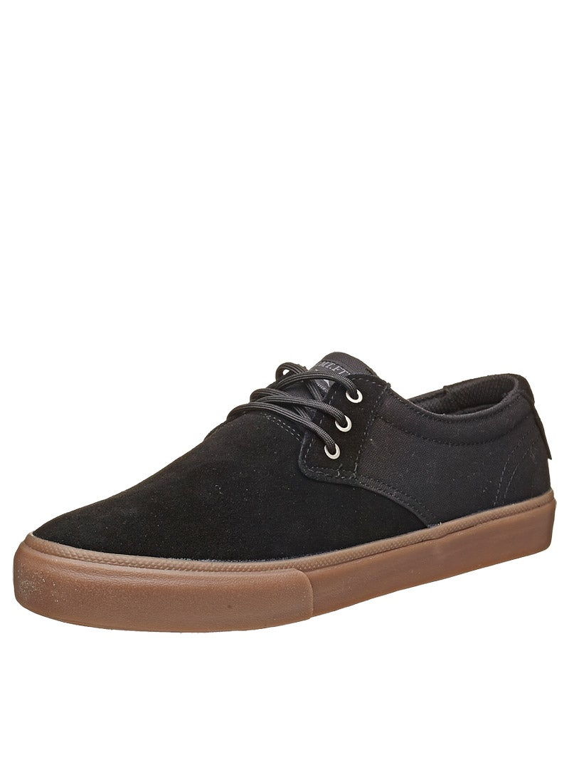 Lakai Manchester Xlk Black Gum Lakai mj Shoes Black/gum Suede