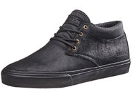 Lakai MJ Mid Jenkem Shoes  Black/Black Suede