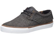 Lakai MJ Shoes  Grey Textile