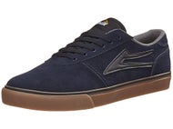 Lakai Manchester Shoes Navy/Gum Suede