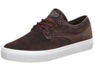 Lakai Riley Hawk Shoes Chocolate Suede