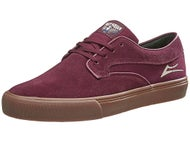 Lakai Riley Hawk Shoes  Port Suede