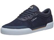 Lakai Anchor Staple Shoes Navy Suede