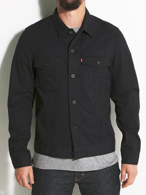 Levi's The Trucker Jacket MD Jet Black