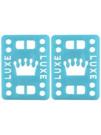 LUXE TPR Flex Formula Riser Pads 1/2 Wedge\ lue