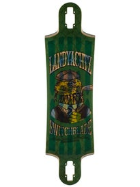 Landyachtz HollowTech Switchblade Lizard Deck  9.5 x 36