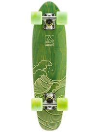 Landyachtz Mini Dinghy Waves Green Complete  6.5 x 26