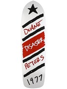 Magic Duane Peters Disaster White Deck 9.5 x 33