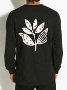 Magenta Pigeon Longsleeve T-Shirt