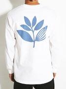Magenta Plant Longsleeve T-Shirt
