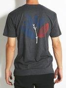 Magenta Tricolor T-Shirt