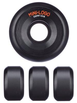 Mini Logo A-Cut Black 101a Wheels