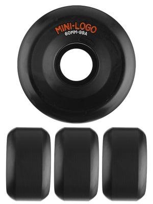 Mini Logo A-Cut Black 99a Wheels 60mm