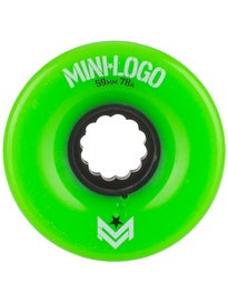 Mini Logo AWOL A-Cut 78a Wheels Green