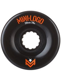 Mini Logo AWOL A-Cut 78a Wheels Black