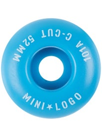 Mini Logo C-Cut Blue 101a Wheels
