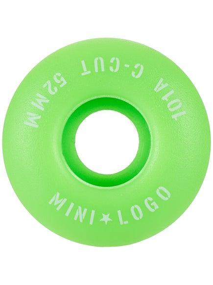 Mini Logo C-Cut Green 101a Wheels