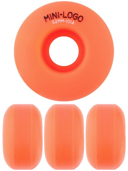 Mini Logo C-Cut Orange 101a Wheels