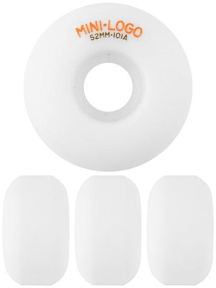 Mini Logo C-Cut White 101a Wheels