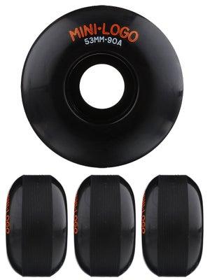 Mini Logo C-Cut Black 90A Hybrid Wheels