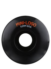 Mini Logo C-Cut Black 90A Hybrid Wheels