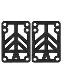 Mini Logo Riser Pads 1/2\ Black