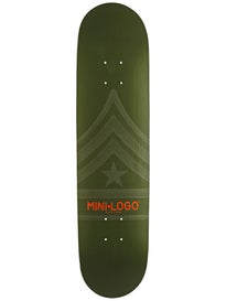 Mini Logo Quartermaster 112 Green Deck  7.75 x 31.75