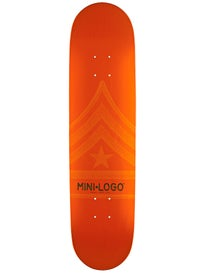 Mini Logo Quartermaster 112 Orange Deck  7.75 x 31.75